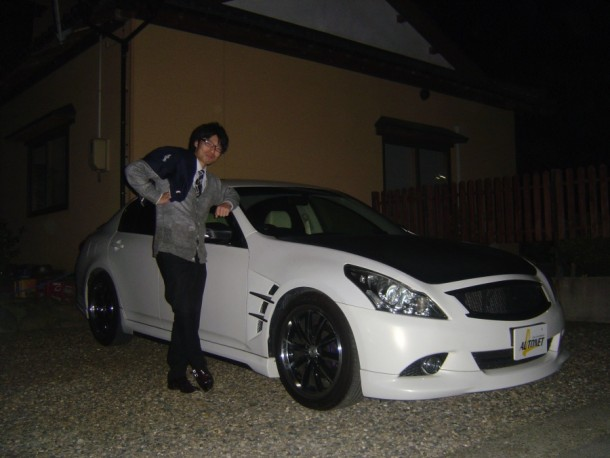 新潟県 神田さん 購入した車:ニッサン スカイライン