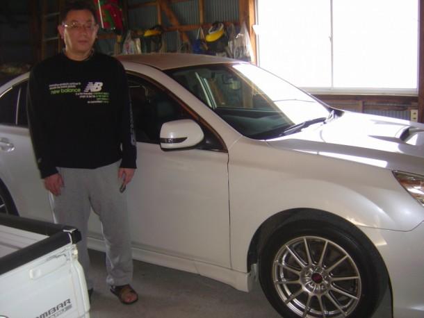 富山県 古田さん 購入した車:スバル レガシーB4