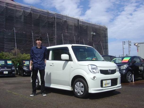 新潟県 頓所さん 購入した車:ニッサン モコ