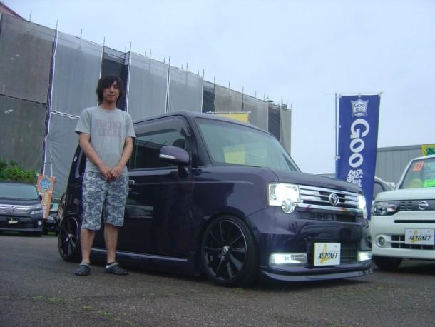 新潟県 江濱さん 購入した車:ダイハツ ムーヴコンテ