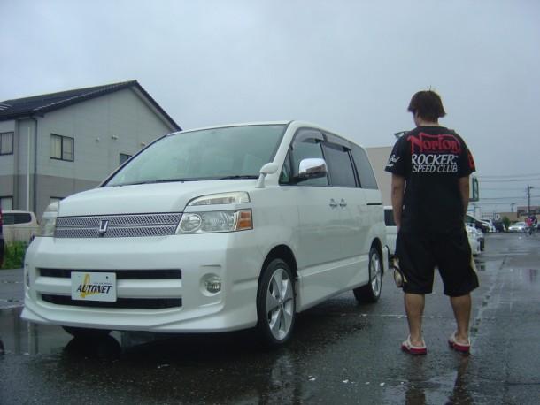 新潟県 齊藤さん 購入した車:トヨタ ヴォクシー