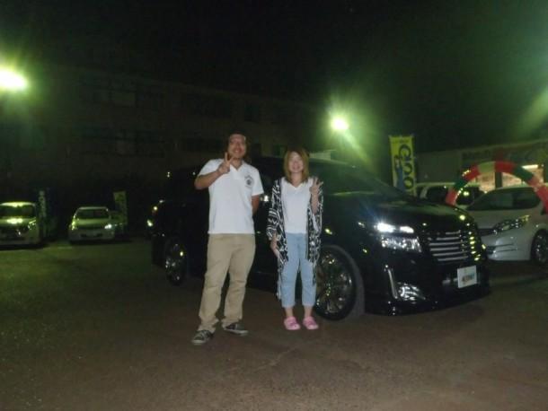 新潟県 五十嵐さん 購入した車:日産 エルグランド